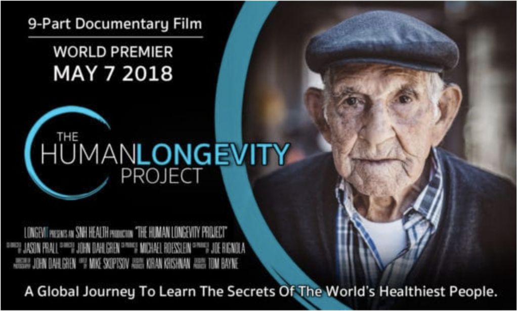 The Human Longevity Project Film Poster