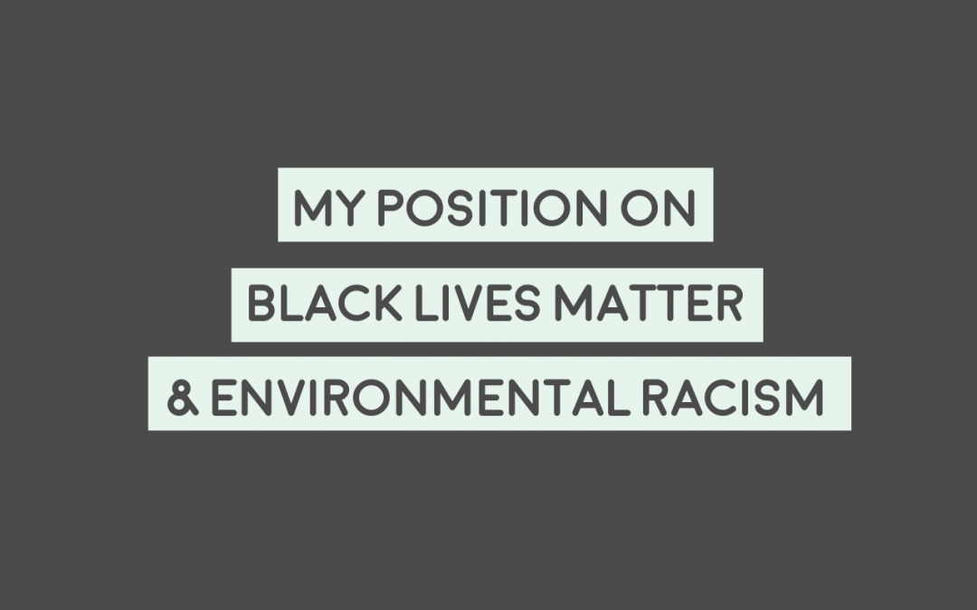 My Position On Black Lives Matter